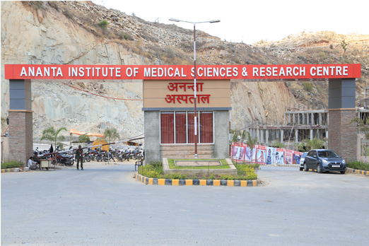 Ananta Institute of Medical Sciences & Research Centre, Rajsamand